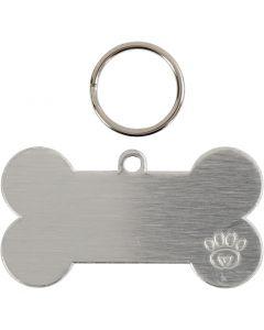 Kit médaille pour animaux, dim. 40 mm, 4 set/ 1 Pq.