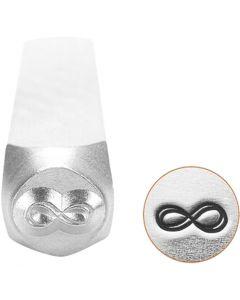 Tampon relief, Signe de l'éternité, L: 65 mm, dim. 6 mm, 1 pièce