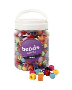 Multi Mix, dim. 11 mm, diamètre intérieur 7 mm, couleurs assorties, 700 ml/ 1 boîte