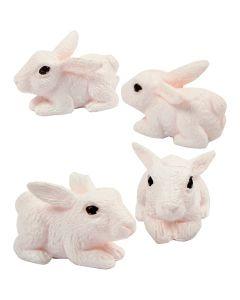 Petites figurines, H: 10 mm, 4 pièce/ 1 Pq.