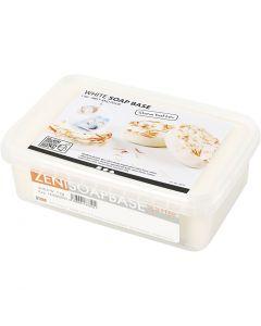Base de savon au beurre de karité, blanc, 1 kg