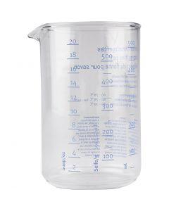 Pot en verre pour mélanger, 1 pièce