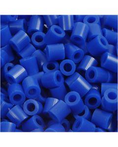 Perles à repasser, dim. 5x5 mm, diamètre intérieur 2,5 mm, medium, bleu foncé (32232), 6000 pièce/ 1 Pq.