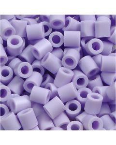 Perles à repasser, dim. 5x5 mm, diamètre intérieur 2,5 mm, medium, lila (32245), 6000 pièce/ 1 Pq.