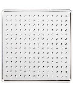 Plaque à picots, petit carré, dim. 7x7 cm, 10 pièce/ 1 Pq.