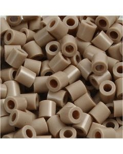 Photo Pearls, dim. 5x5 mm, diamètre intérieur 2,5 mm, beige (6), 6000 pièce/ 1 Pq.