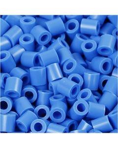 Photo Pearls, dim. 5x5 mm, diamètre intérieur 2,5 mm, bleu (17), 6000 pièce/ 1 Pq.