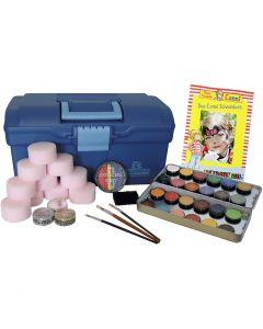 Set de maquillage visage Eulenspiegel, couleurs assorties, 1 set