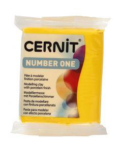 Cernit, jaune (700), 56 gr/ 1 Pq.