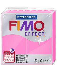 FIMO effect, rose néon, 57 gr/ 1 Pq.