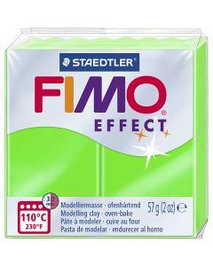 FIMO effect, vert néon, 57 gr/ 1 Pq.