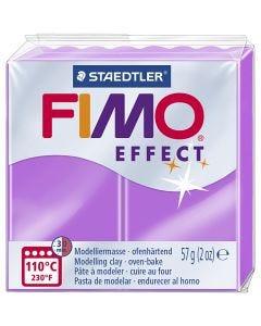FIMO effect, violet néon, 57 gr/ 1 Pq.