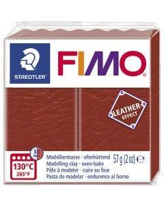 Pâte FIMO® effet cuir, rust (749), 57 gr/ 1 Pq.