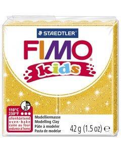 Pâte pour enfant FIMO®, paillettes, or, 42 gr/ 1 Pq.