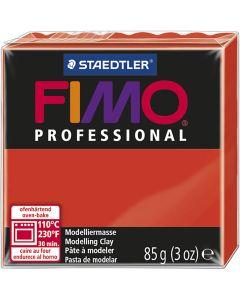 Pâte professionnelle FIMO® , rouge, 85 gr/ 1 Pq.
