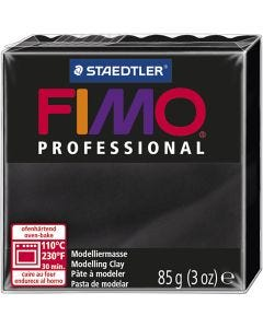 Pâte professionnelle FIMO® , noir, 85 gr/ 1 Pq.