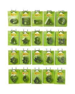 Emporte-pièces - Achat en gros, dim. 40x45 mm, 20x5 Pq./ 1 Pq.