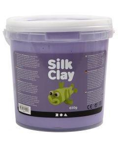 Silk Clay®, violet, 650 gr/ 1 seau