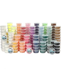 Foam Clay®, couleurs assorties, 22x10 boîte/ 1 Pq.