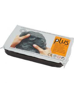Pâte autodurcissante, noir, 1000 gr/ 1 Pq.