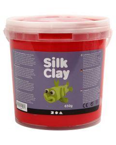 Silk Clay®, rouge, 650 gr/ 1 seau