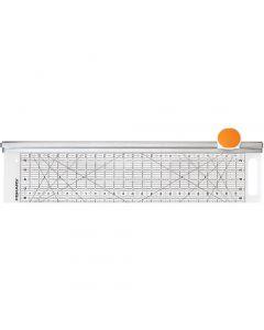 Combo Rotary Cutter & Ruler, L: 62 cm, L: 15,5 cm, 1 pièce