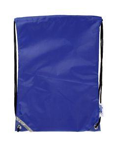 Sac à dos, dim. 31x44 cm, bleu, 1 pièce