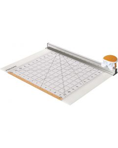 Combo Rotary Cutter & Ruler, L: 31 cm, 1 pièce