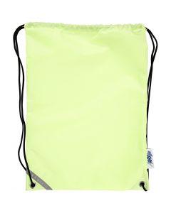 Sac à dos, dim. 31x44 cm, jaune fluorescent, 1 pièce