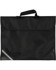 Cartable, prof. 9 cm, dim. 36x29 cm, noir, 1 pièce