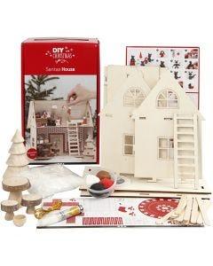 Kit maison du père Noël, 1 set