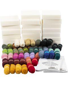Kit d'Apprentissage créatif, naturel, 1 set