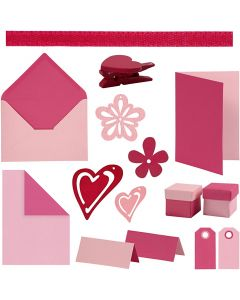 Happy Moments - Fabrication de cartes, couleurs assorties, 160 UV/ 1 Pq.