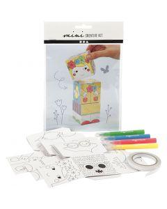 Mini kit créatif, 1 set