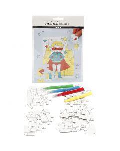 Mini kit créatif, blanc, 1 set