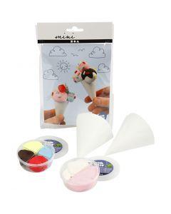 Mini kit créatif, cônes de glace, 1 set
