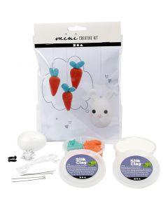 Mini kit créatif, lapin , 1 set