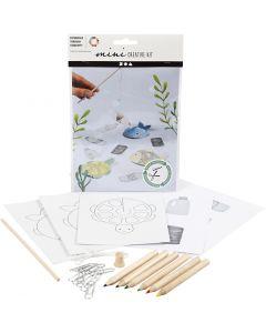 Mini kit créatif, Jeu de pêche, 1 set