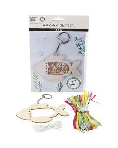 Mini kit créatif, Poisson, 1 set