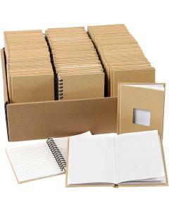 Carnet de notes, A6, dim. 10,5x15 cm, 3x32 pièce/ 1 Pq.
