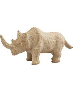 Rhinocéros, H: 7,5 cm, L: 18 cm, 1 pièce