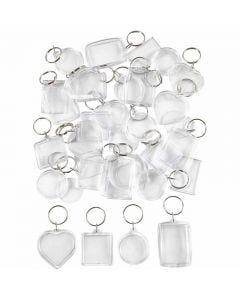 Porte-clés, dim. 40-50 mm, 100 pièce/ 1 Pq.