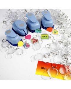 Porte-clés, dim. 40-50 mm, 300 pièce/ 1 Pq.