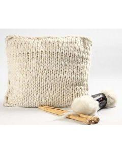 Cushion made from Merino Wool