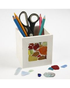 Mosaics on a Pencil Holder