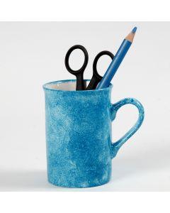 Technique de tamponnement sur porcelaine