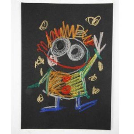 Crayons de couleur Woody