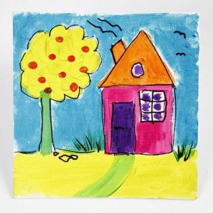 Peinture avec A-Color Glass sur un Canevas