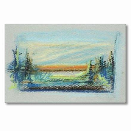 Un dessin avec Gallery Soft Pastels sur carton Canson