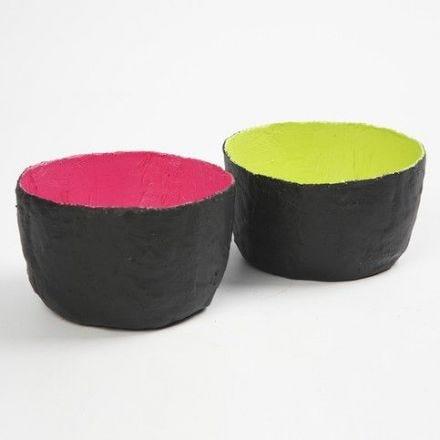 Bowls made from Gauge Bandage